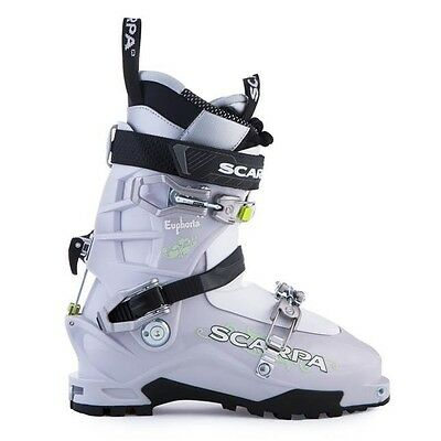 Scarpa Euphoria Women's Ski Touring Backcountry Ski Boot Size 26.5 Mondo 7.5 UK