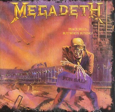 MEGADETH - PEACE SELLS....BUT WHO'S BUYING VINYL ALBUM SET (April 1st 2013)