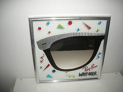 Vintage Ray Ban Wayfarer Sunglasses Promotional Store Mirror