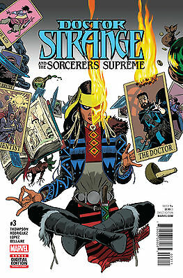 DOCTOR STRANGE SORCERERS SUPREME #3 (MARVEL 2016 1st Print) Comic. Boarded