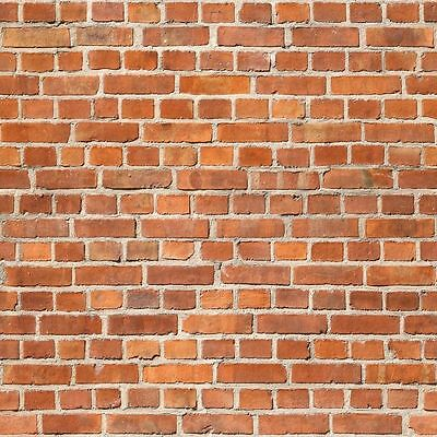 #  8 SHEETS SELF ADHESIVE PAPER BRICK wall 21x29cm 1 Gauge 1/32 CODE 6U8SSM!