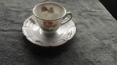 Rosenthal, Collectable China Cup & Saucer, Rose Design, Bavaria