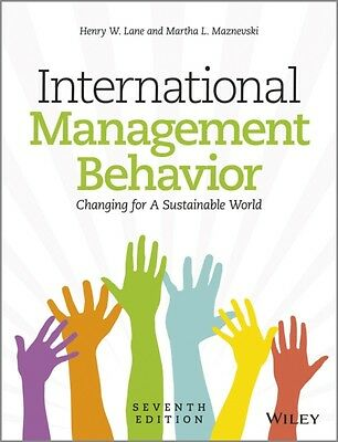 International Management Behavior: Global and Sustainable Leadership (Paperback)