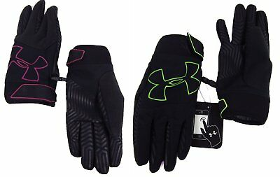 Under Armour Kids SM-LG Purple Or Green ColdGear Infrared Storm Gusto Gloves