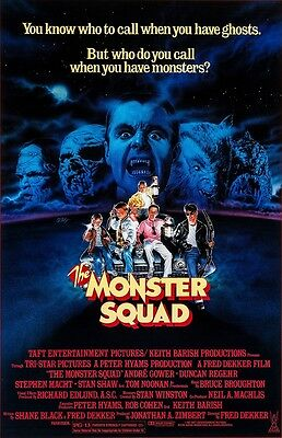 The Monster Squad movie poster (a) : 11 x 17 inches