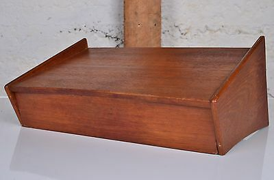 Danish Floating Mid Century Shelf Furniture Modern Drawer Teak Nightstand
