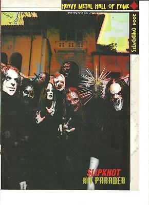 Slipknot, Full Page Pinup