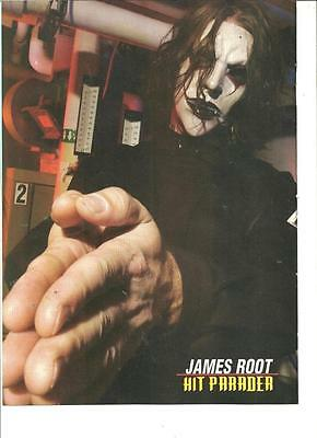 Slipknot, James Root, Full Page Pinup