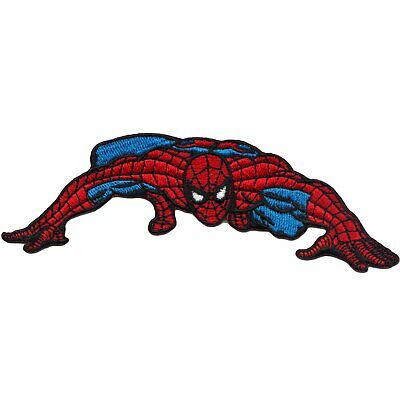Official Marvel Comics The Amazing Spiderman Crawling Iron on Applique Patch