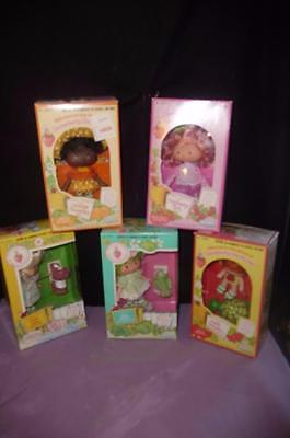 5 Kenner Strawberry Shortcake 1980 RASPBERRY TART LIME CHIFFON ORANGE BLOSSOM...