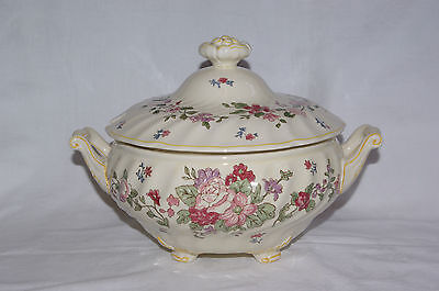 Vintage Royal Doulton Wildflower Handfinished Soup Tureen D5273