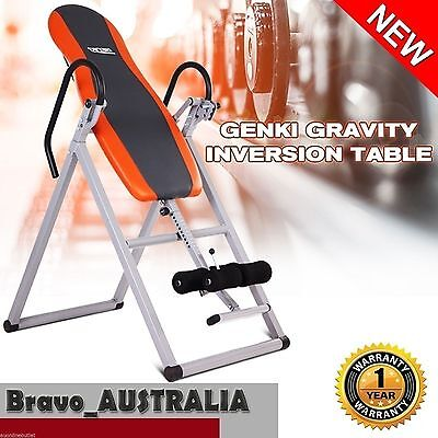 Gravity Inversion Table Folding Upside Down Stretch Back Neck Hip Home Exercise