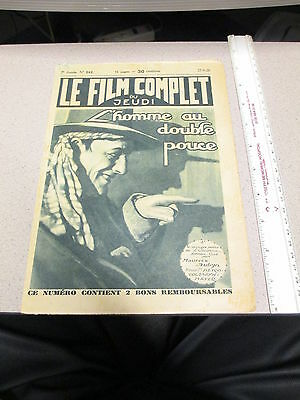 Lon Chaney 1928 THE UNKNOWN Joan Crawford French Film Complet photoplay