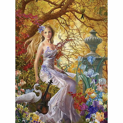 LOST MELODY by Nene Thomas - Ceaco 750 piece Fantasy puzzle - NEW