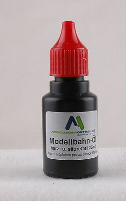Model Railroad-Oil, Lubricating oil, Gear oil 25ccm NEW