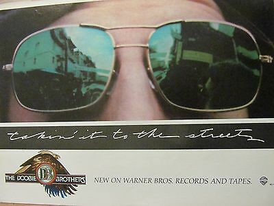 The Doobie Brothers, Takin' it to the Streets, Full Page Vintage Promotional Ad