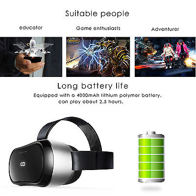 Immersive All-in-one Virtual Reality Headset 3D VR Glasses 2G/8GB 1080P WIFI BT