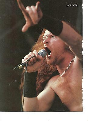 Iced Earth, Full Page Pinup