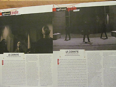 Ulcerate, Lot of TWO Full Page Clippings
