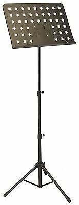 New Gk Ms-002 Folding Orchestral Music Stand -Great For Sheet Music,tab & More