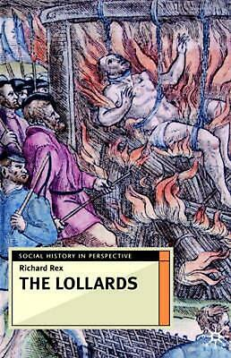 The Lollards by Richard Rex (English) Hardcover Book Free Shipping!