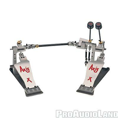 AXIS Percussion AXX Double Kick Bass Drum Pedal NEW