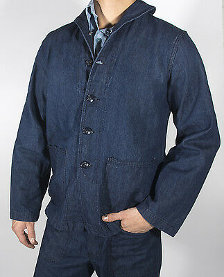 WWII Navy Dungaree Jumper, Size L (41-44), New