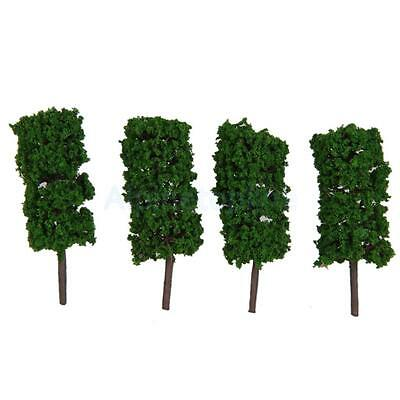 50 Landscape Tree Model Train Park Street Wargame Layout Scene Diorama 4.5cm