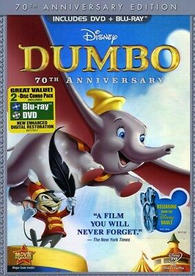 Dumbo [New DVD] With Blu-Ray, Anniversary Edition, Full Frame, O-Card Packagin