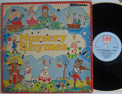 """The Roger Webb Orchestra Nursery Rhymes (5991) 12"""" LP Multi Media Tapes 1981"""