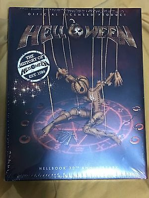 Helloween Hellbook 30 Th Anniversary  - Rare Deluxe Book Limited New Sealed