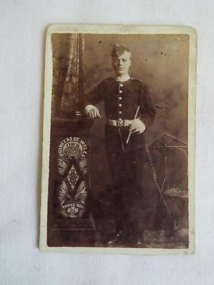 Good antique CDV of soldier Princess of Wales Own Yorks Reg.
