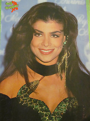 Paula Abdul, Tom Cruise, Double Full Page Vintage Pinup