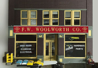 F W Woolworth Animated Billboard Sign for N HO Scale Miller 442002