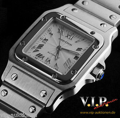 Cartier Santos Galbee Automatik Uhr Herrenuhr Damenuhr Unisex Steel Watch Montre