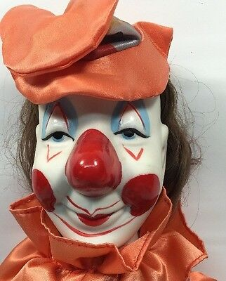 Scary Halloween Clown Doll Ceramic Price Products Vintage