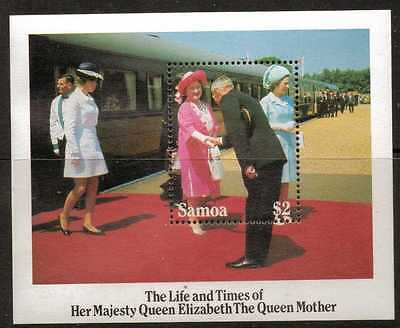 Samoa Sgms704 1985 Queen Mother Mnh