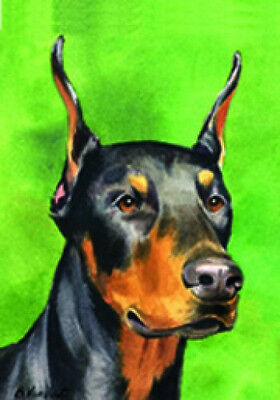Garden Indoor/Outdoor Decorative Flag - Doberman Pinscher 200151
