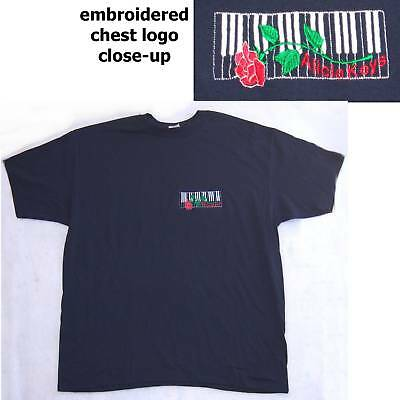 Alicia Keys! Embroidered Piano & Rose T-Shirt 2Xl New
