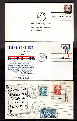 Usa Lot Of 20 First Day Covers !!