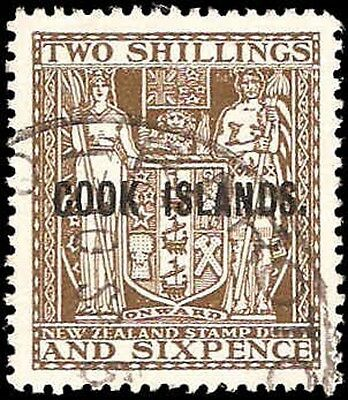 Cook Islands #103 Used VF
