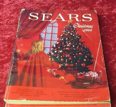 Vintage 1962 Sears Roebuck & Company Christmas Wishbook Catalog