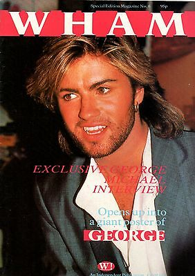 Wham! Special Edition Poster Magazine No.6     George Michael