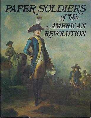 (paper dolls) PAPER SOLDIERS OF THE AMERICAN REVOLUTION 1982 new!