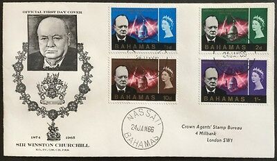 Barbados 1966 Comm of Churchill First Day Cover,FDC (See Scans)