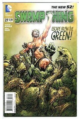 DC Comics! Swamp Thing, The New 52! #27! 2014! NM! Near Mint!