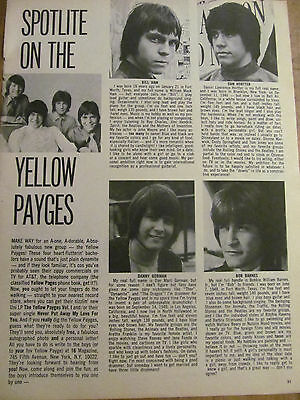 The Yellow Payges, Stefan Arngrim, Double Full Page Vintage Clipping