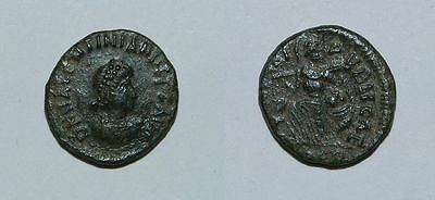 Ancient Rome :  Valentinian Ii 375-392 A.d.  Ae4 - Nice Example