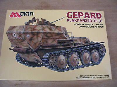 Alan 018 - Gepard Anti-aircraft Tank 38(t) german Tank - 1:35 NIP 47