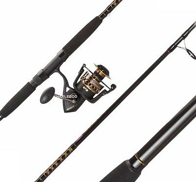 PENN Battle 6000II 9' 2 PC Surf Rod and Reel Spinning Combo